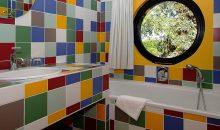 Salle de bain chambre Pop