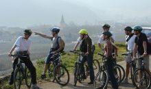 Balade à vélo dans les vignobles d'Alsace