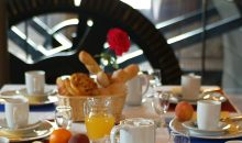 Le petit dejeuner au Zinck hotel